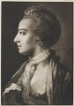 Fashionable woman wearing lace necklet, by Thomas Frye - NPG D11294