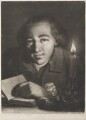 Young man with book and candlestick, by Thomas Frye - NPG D11297
