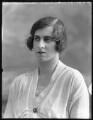 Lady Ankaret Cecilia Caroline Jackson (née Howard), by Bassano Ltd - NPG x120419