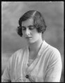 Lady Ankaret Cecilia Caroline Jackson (née Howard), by Bassano Ltd - NPG x120420