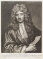 William van de Velde the Younger, by John Smith, after  Sir Godfrey Kneller, Bt - NPG D11496