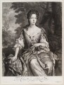 Catherine Manners (née Noel), Duchess of Rutland, by and published by John Smith, after  Sir Godfrey Kneller, Bt - NPG D11597
