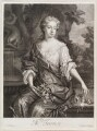 Diana Turnor (née Cecil), by Isaac Beckett, published by  John Smith, after  Sir Godfrey Kneller, Bt - NPG D11600