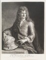 Grinling Gibbons, by and published by John Smith, after  Sir Godfrey Kneller, Bt - NPG D11514