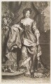 Queen Anne when Princess of Denmark, by John Smith, published by  Edward Cooper, after  Willem Wissing, after  Jan van der Vaart - NPG D11529