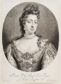 Queen Mary II, by John Smith, published by  Edward Cooper, after  Jan van der Vaart - NPG D11531