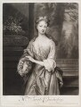 Sarah Plowden (née Chicheley), by and published by John Smith, after  Sir Godfrey Kneller, Bt - NPG D11601