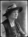 Lady Dorothea Augusta Lee-Warner, by Bassano Ltd - NPG x120496