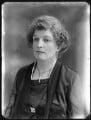 Lady Dorothea Augusta Lee-Warner, by Bassano Ltd - NPG x120497