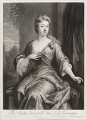Anne Newport (née Pierrepont or Pierpont), Lady Torrington, by and published by John Smith, after  Sir Godfrey Kneller, Bt - NPG D11609