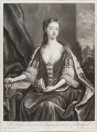 Bessey Nassau van Zuylestein (née Savage), Countess of Rochford, by and published by John Smith, after  Charles D'Agar - NPG D11613