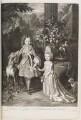 Prince James Francis Edward Stuart; Princess Louisa Maria Theresa Stuart, by and published by John Smith, after  Nicolas de Largillière - NPG D11539