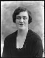 Hon. Lettice Theresa Tatham (née Digby), by Bassano Ltd - NPG x78645