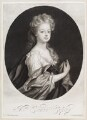 Elinor (Eleanor) Copley, by and published by John Smith, after  Sir Godfrey Kneller, Bt - NPG D11620