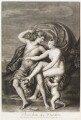 'Loves of the Gods': (Bacchus; Ariadne; Cupid), by John Smith, after  Titian - NPG D11709