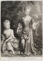 Countess of Sunderland and Duchess of Marlborough, by and published by John Smith, after  Sir Godfrey Kneller, Bt - NPG D11546