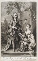 William Villiers, 2nd Earl of Jersey; Mary Granville (née Villiers) Lady Lansdowne, by and published by John Smith, after  Sir Godfrey Kneller, Bt - NPG D11549