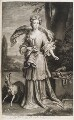 Elizabeth Southwell (née Cromwell), Lady Cromwell, by and published by John Smith, after  Sir Godfrey Kneller, Bt - NPG D11550