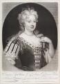 Caroline Wilhelmina of Brandenburg-Ansbach when Queen Caroline, by and published by John Smith, after  Sir Godfrey Kneller, Bt - NPG D11642