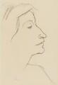 Frieda Emma Johanna Maria Lawrence (née von Richthofen), by Leon Underwood - NPG 6614