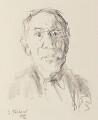 Josef Paul Hodin, by Oskar Kokoschka - NPG 6615