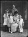 Dorina Parsons; Renée Williams-Bulkeley; Sir Thomas Neave, 5th Bt; Lady Dorina Neave; Sir Arundell Neave, 6th Bt, by Bassano Ltd - NPG x78745