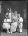Renée Williams-Bulkeley; Dorina Parsons; Lady Dorina Neave; Sir Arundell Neave, 6th Bt, by Bassano Ltd - NPG x78746