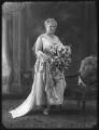 Muriel Mary Georgina Newton (née Duke), Lady Eltisley (later Lady Huntingfield), by Bassano Ltd - NPG x74892