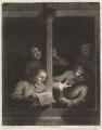 Boors singing at a window, by and published by John Smith, after  Adriaen van Ostade, after  Egbert van Heemskerck the Elder - NPG D11722