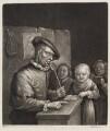Singing lesson, published by John Smith, after  Egbert van Heemskerck the Elder - NPG D11723