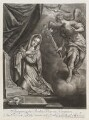 Annunciation, by John Smith, published by  Thomas Glass, after  Titian - NPG D11724