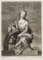 Mrs Cross as St Catherine, by and published by John Smith, after  Sir Godfrey Kneller, Bt - NPG D11725