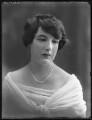 Mary Frances Katherine Dent, 19th Baroness Furnivall, by Bassano Ltd - NPG x74945