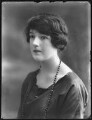 Mary Frances Katherine Dent, 19th Baroness Furnivall, by Bassano Ltd - NPG x74946