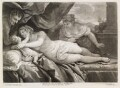 Venus on a couch, by and published by John Smith, after  Luca Giordano - NPG D11733