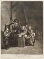 The Dutch School, by Isaac Beckett, published by  John Smith, after  Egbert van Heemskerck the Elder - NPG D11738