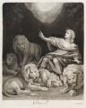 Daniel in the Lions Den, published by John Smith - NPG D11745