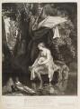 A Naked Woman Bathing, published by John Smith, after  Prosper Henry Lankrink - NPG D11751