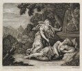 Pyramus and Thisbe, published by John Smith - NPG D11763