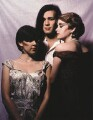 'The Human League' (Susanne Sulley; Philip Oakey; Joanne Catherall), by Jill Furmanovsky - NPG x125371