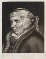 Head of an old woman, after Cornelis Visscher - NPG D11778