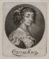 Henrietta Maria, published by John Smith, after  Sir Anthony van Dyck - NPG D11910
