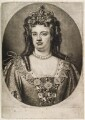 Queen Anne, published by John Smith, after  Sir Godfrey Kneller, Bt - NPG D11920