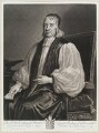 Edward Fowler, by and published by John Smith, after  Sir Godfrey Kneller, Bt - NPG D11582