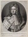 King George I, by and published by John Smith, after  Sir Godfrey Kneller, Bt - NPG D11930