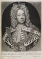 King George II when Prince of Wales, by and published by John Smith, after  Sir Godfrey Kneller, Bt - NPG D11933
