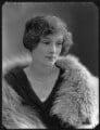 Lady Ursula Helen Abbey (née Cairns), by Bassano Ltd - NPG x120641