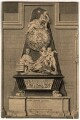 Monument to Sir Isaac Newton in Westminster Abbey, by B. Cole, after  William Kent, and after  John Michael Rysbrack - NPG D13121