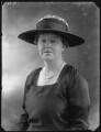 Lady Selina Marguerite Hughes D'Aeth (née Gathorne-Hardy), by Bassano Ltd - NPG x75206