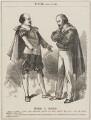 Hero v. Bard (William Shakespeare; Giuseppe Garibaldi), by Unknown artist - NPG D13122